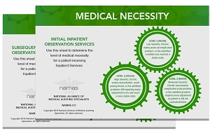 Medical Necessity Leveling Charts