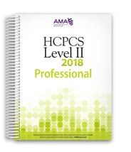 2018 HCPCS Level II Codebook