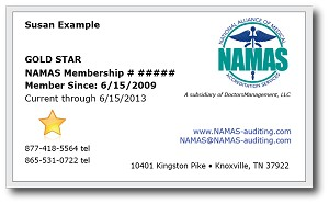 NAMAS Diamond Membership