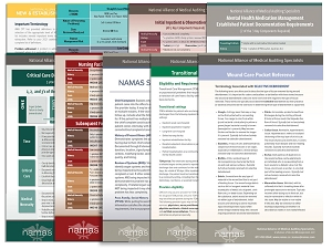 NAMAS Quick Reference Cards